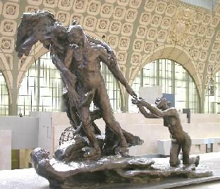 L'âge mûr, de Camille Claudel, musée d'Orsay,           Cliquez pour agrandir